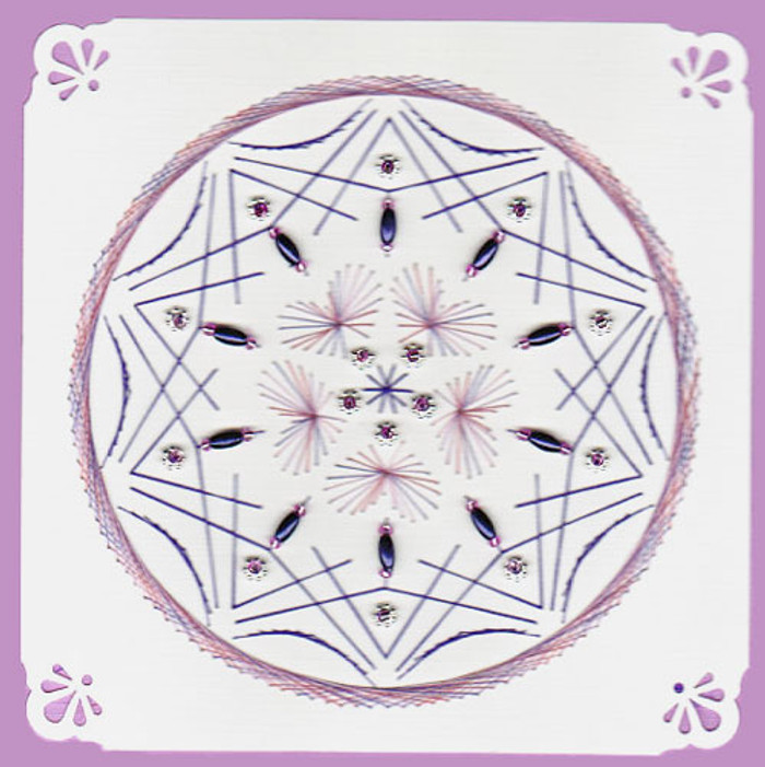 Emelie's Design Card Stitching e-Pattern - ED182e