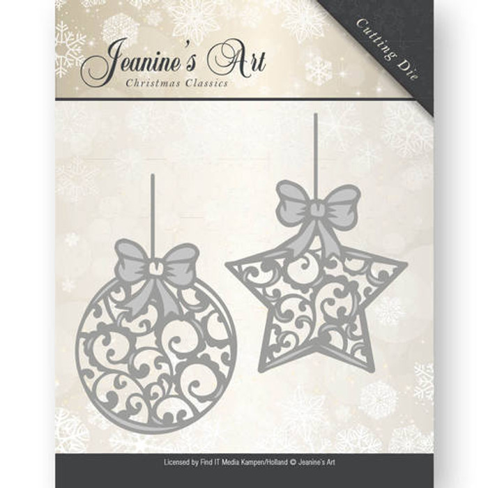 Jeanine's Art Christmas Classics - Ornament Ornaments Die - JAD10010
