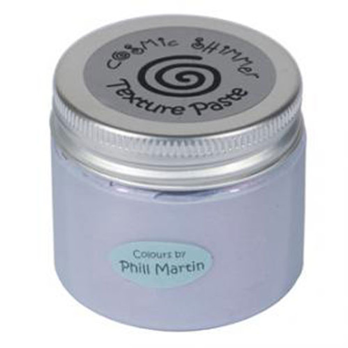 Cosmic Shimmer Sparkle Texture Paste 50ml Pot - CHIC VIOLA CSPMPASTSPVIOLA