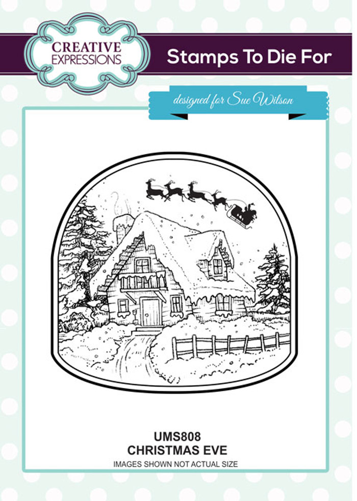 Sue Wilson Stamps To Die For - Christmas Eve UMS808