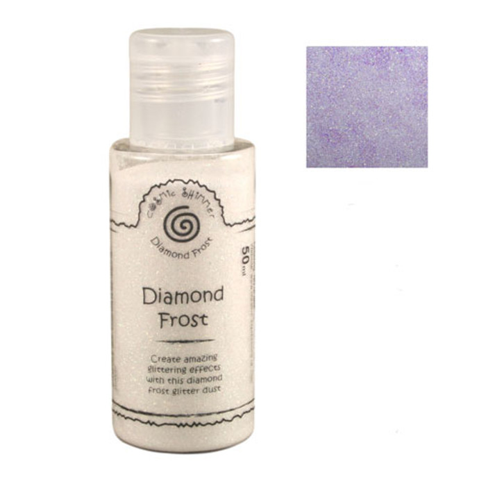 Cosmic Shimmer Diamond Frost Glitter Dust 50ml - Aurora Sparkle