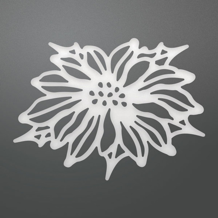 Ultimate Crafts Decorative Die - Poinsettia  ULT158316
