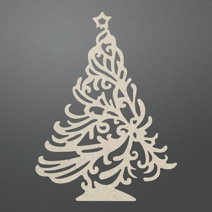 Couture Creations Chipboard  - Christmas Tree CO725710