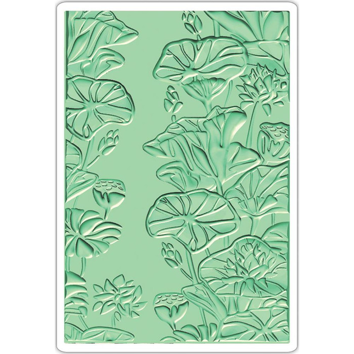 Sizzix 3D Textured Impressions - Lily Pond 661950