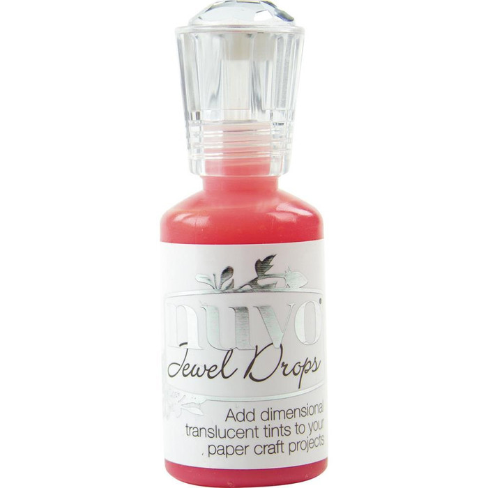 Nuvo Jewel Drops 30ml - Strawberry Coulis