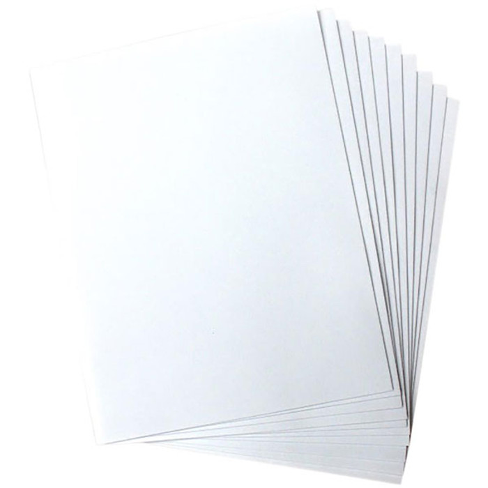 Heartfelt Creations Art Foam Paper - White