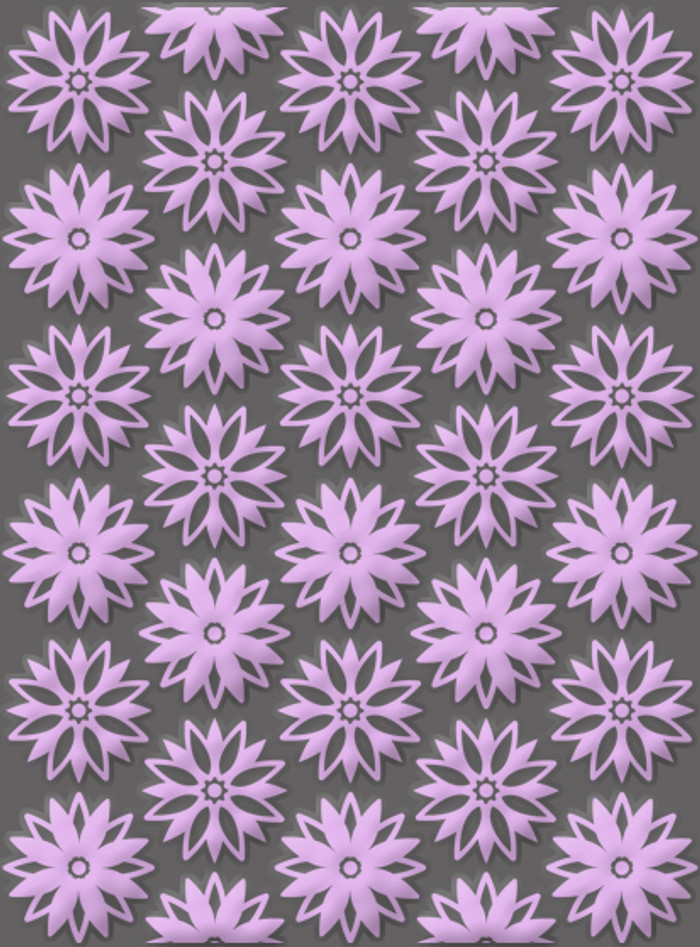 Craft Concepts Embossing Folder - A2  Ornate Treasures - Spring Flowers