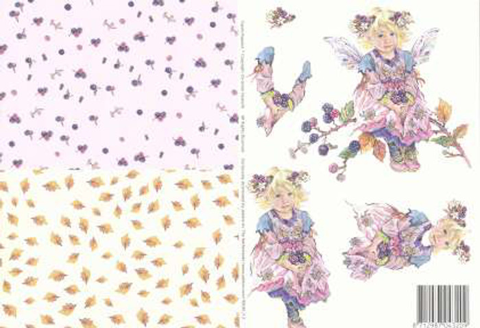 3D Cutting Sheet - Faerie Poppets 12