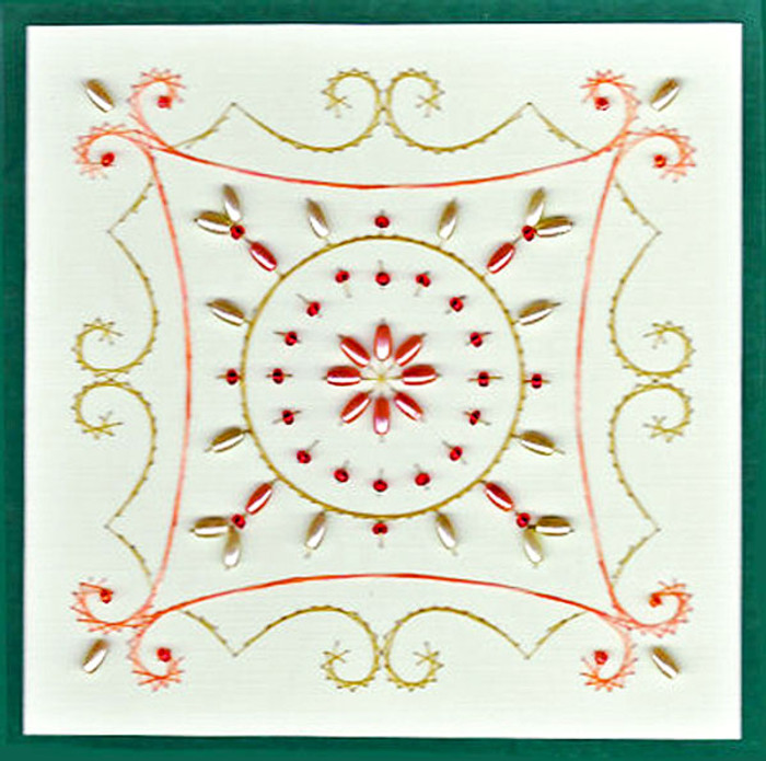 Emelie's Design Card Stitching e-Pattern - ED002e
