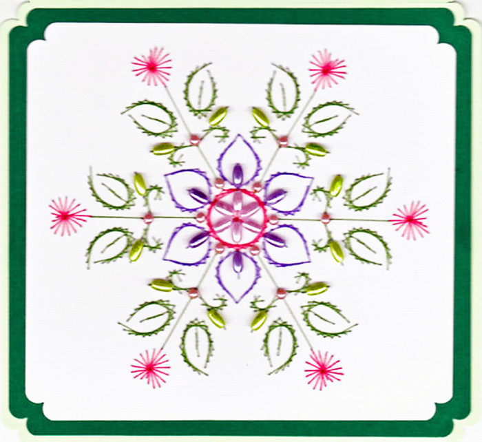 Emelie's Design Card Stitching e-Pattern - ED003e