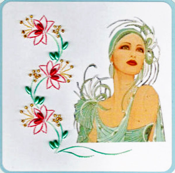 Emelie's Design Card Stitching e-Pattern - ED006e