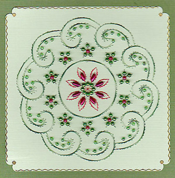 Emelie's Design Card Stitching e-Pattern - ED025e
