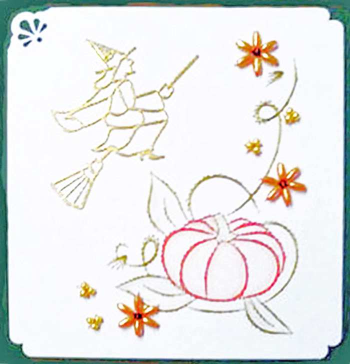 Emelie's Design Card Stitching e-Pattern - ED027e