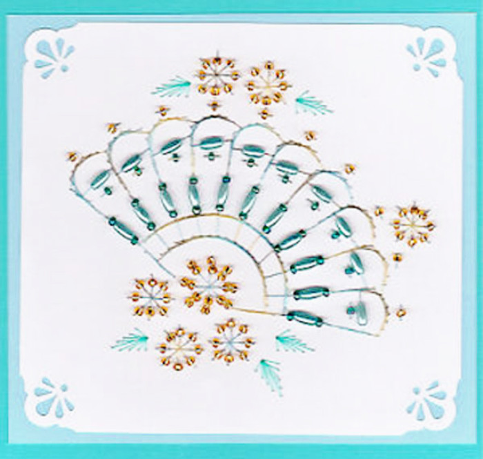 Emelie's Design Card Stitching e-Pattern - ED033e
