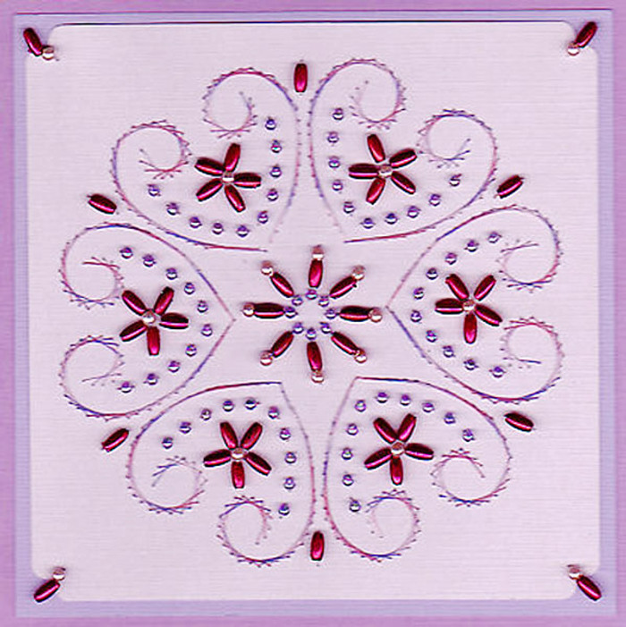 Emelie's Design Card Stitching e-Pattern - ED047e