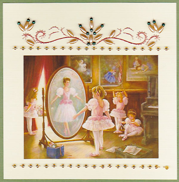Emelie's Design Card Stitching e-Pattern - ED048e