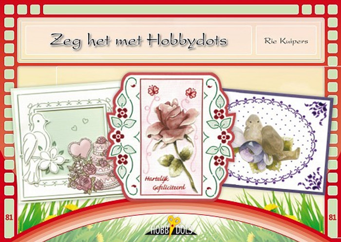 Hobbydols 81 - Zeg het met Hobbydots (Say it with Hobbydots) - (Dutch Language)