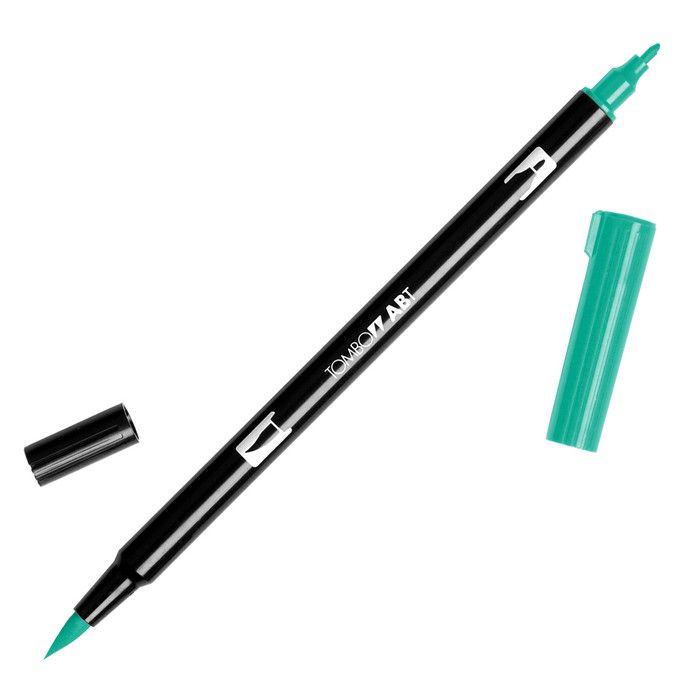 Tombow Dual Brush Marker - Green 296