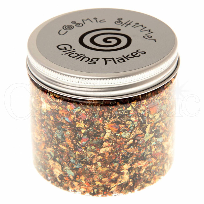 Cosmic Shimmer Gilding Flakes 200ml Pot -SUMMER MEADOW