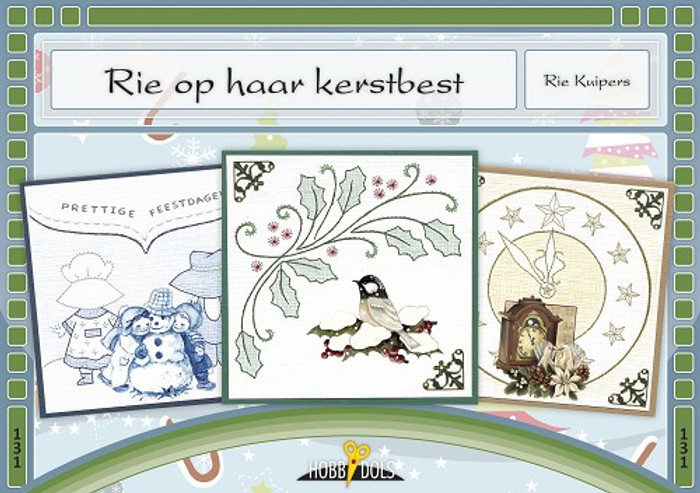 Hobbydols 131 - Rie op haar kerstbest (Rie on her Christmas Best) (Dutch Language)