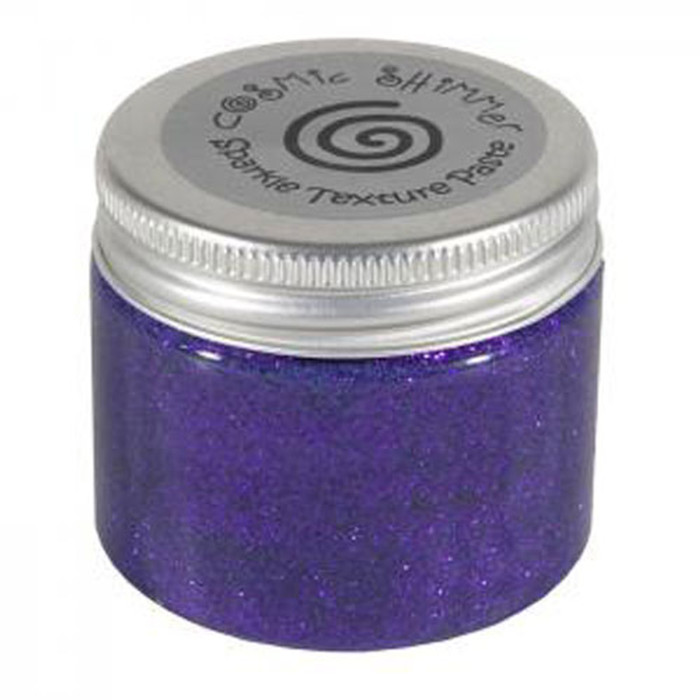 Cosmic Shimmer Sparkle Texture Paste 50ml Pot - VIVID VIOLET