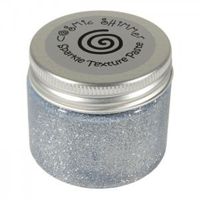 Cosmic Shimmer Sparkle Texture Paste 50ml Pot - SILVER MOON