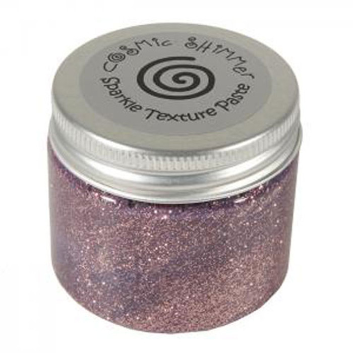 Cosmic Shimmer Sparkle Texture Paste 50ml Pot - PINK BLUSH