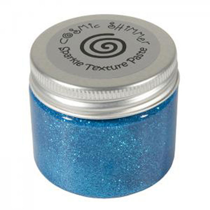 Cosmic Shimmer Sparkle Texture Paste 50ml Pot - EGYPTIAN BLUE