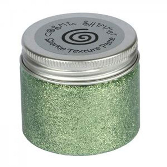 Cosmic Shimmer Sparkle Texture Paste 50ml Pot - SEA GREEN