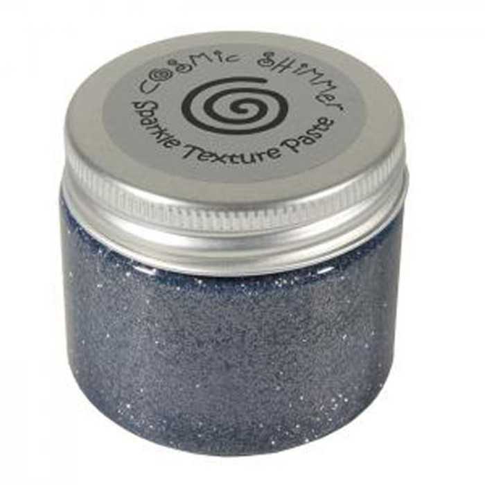Cosmic Shimmer Sparkle Texture Paste 50ml Pot - GUNMETAL