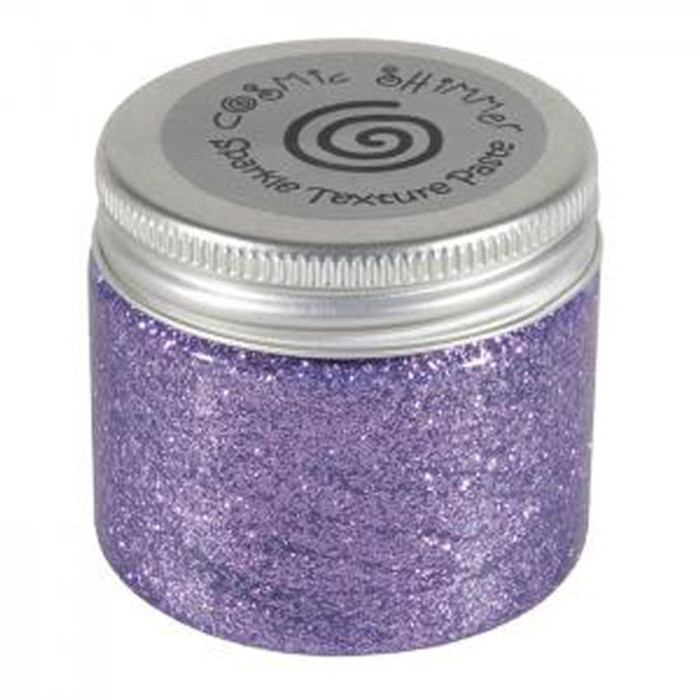 Cosmic Shimmer Sparkle Texture Paste 50ml Pot - LAVENDER MIST