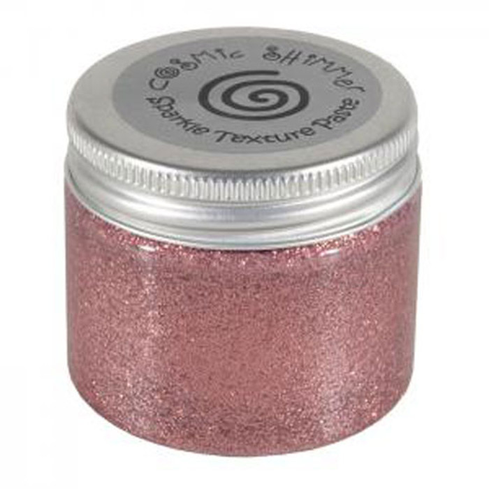 Cosmic Shimmer Sparkle Texture Paste 50ml Pot - ROSE COPPER