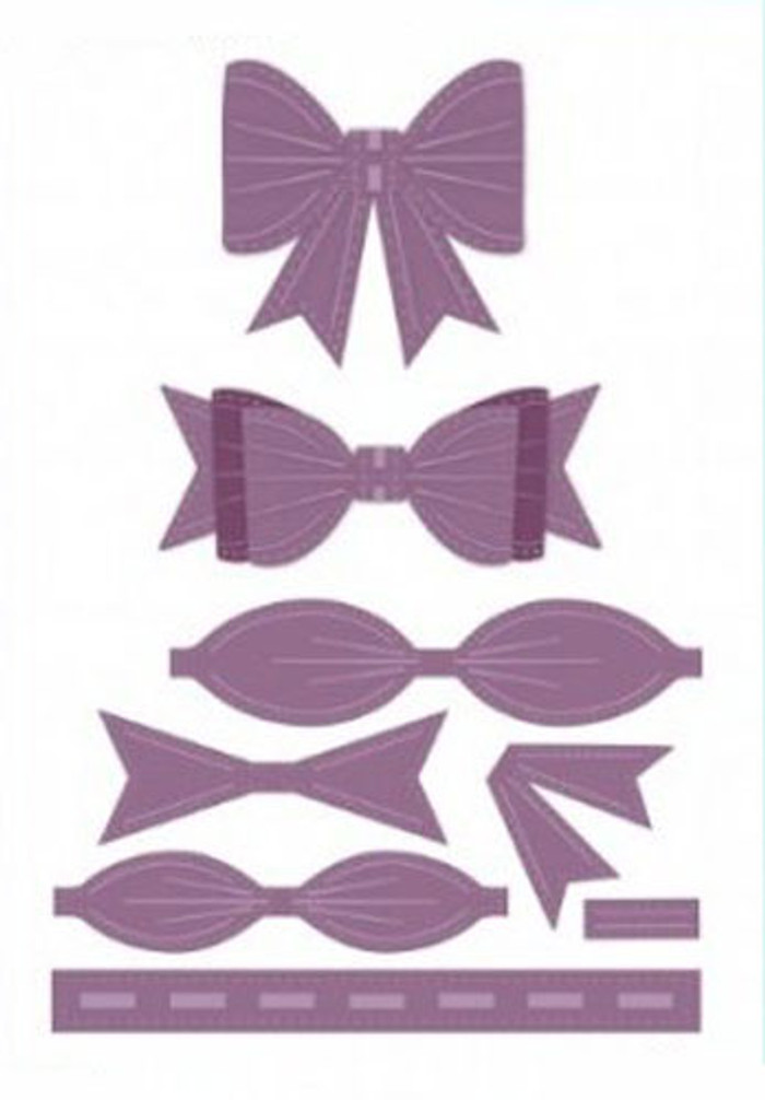 Sue Wilson - The Finishing Touches Collection - Classic 3D Bow Dies CED1405 - Pre-Order 15% Off