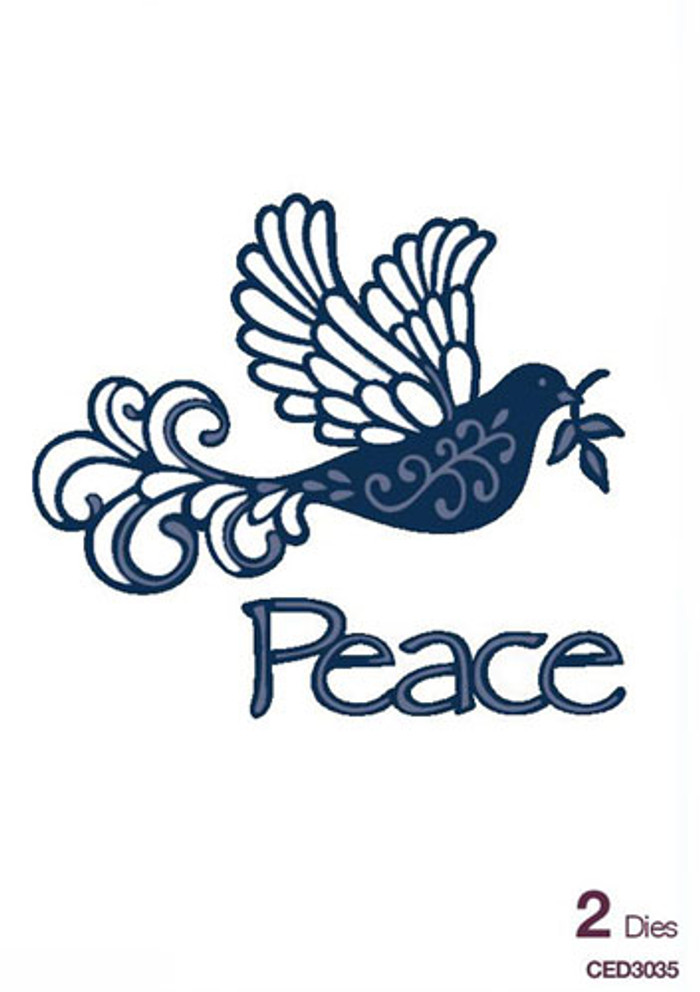 Sue Wilson - The Festive Collection - Dove of Peace Dies CED3035 - Pre-Order 15% Off