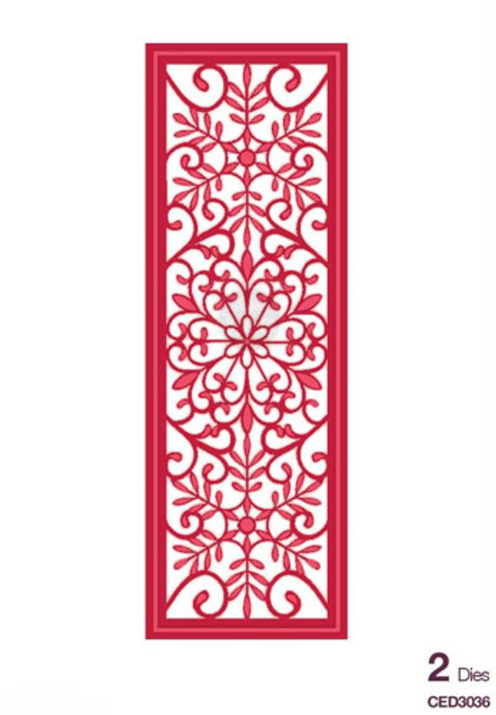 Sue Wilson - The Festive Collection - Snowflake Mini Striplet Dies CED3036 - Pre-Order 15% Off