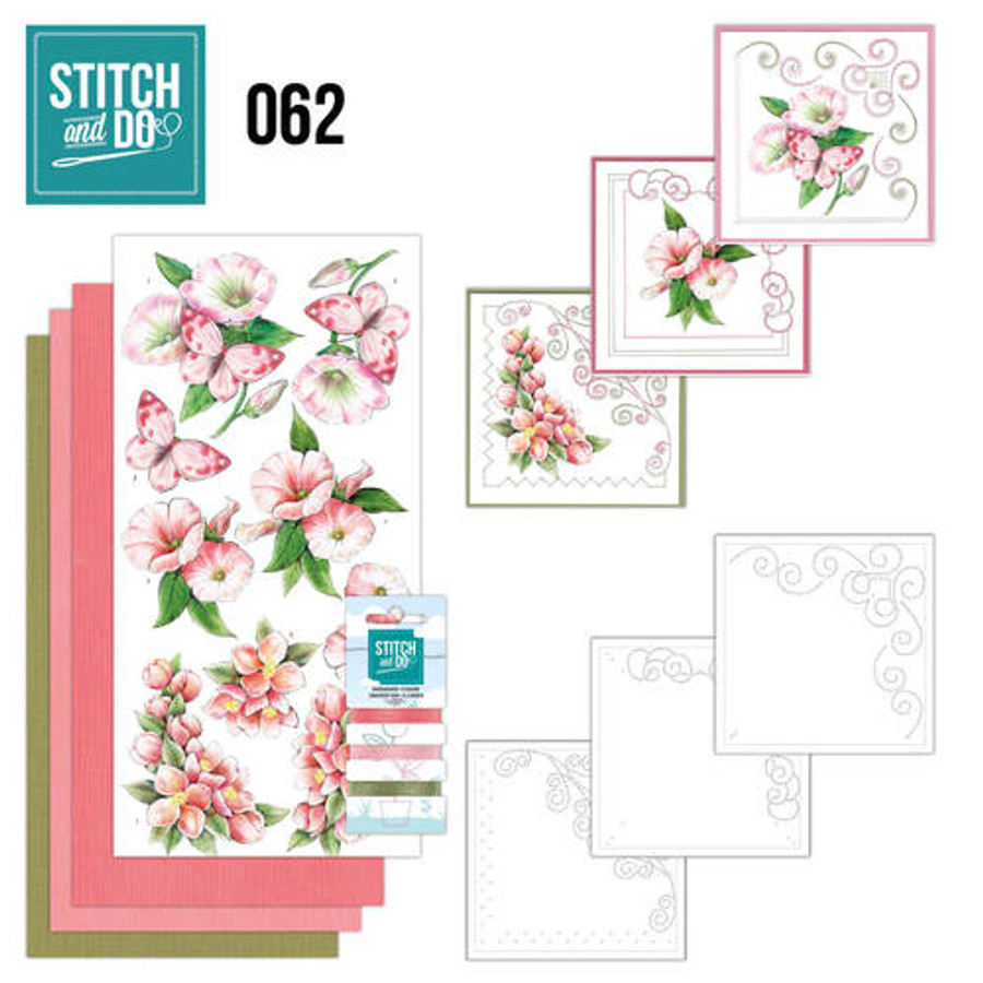 Stitch and Do 62 - Card Embroidery Kit - Condolence STDO062