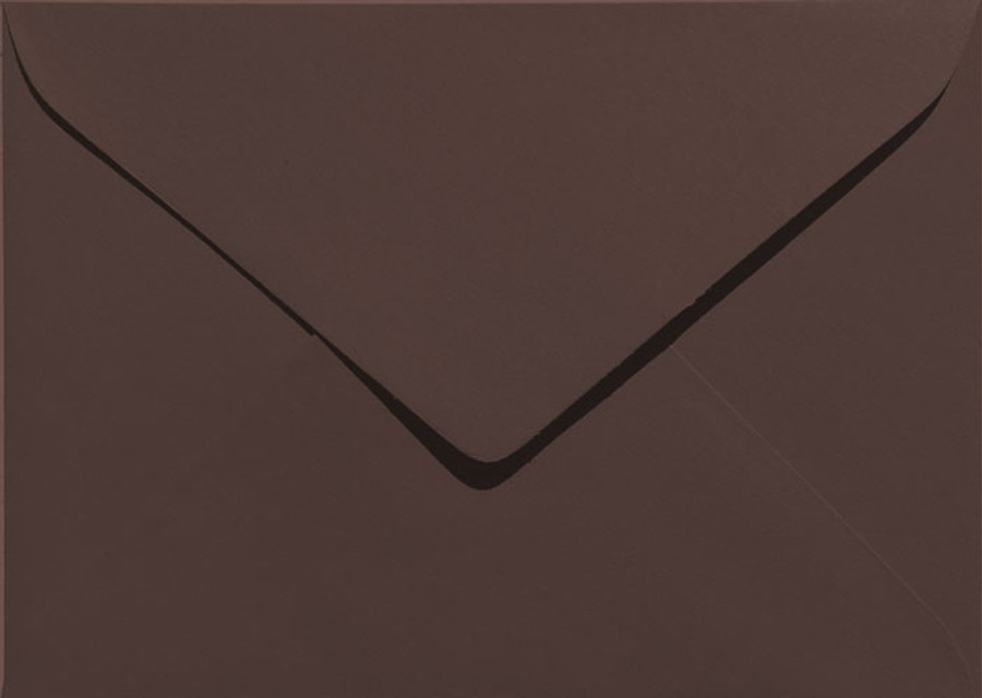 "A7 (5"" x 7"") Envelopes - 130mm x 185mm - MOCHA 20Pk 120gsm"