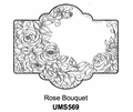 Sue Wilson Stamps To Die For - ROSE BOUQUET UMS569 - 10% Off FREE POSTAGE Pre-Order