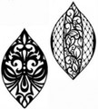 Sue Wilson Stamps To Die For - MINI GOTHIC BEADED LACE BAUBLE UMS541 - 10% Off FREE POSTAGE Pre-Order
