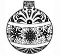 Sue Wilson Stamps To Die For - SNOWFLAKE BAUBLE UMS531 - 10% Off FREE POSTAGE Pre-Order