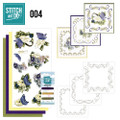 Stitch and Do 4  Card Embroidery Kit - Spring Flowers