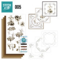 Stitch and Do 5  Card Embroidery Kit - Condolence