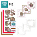 Stitch and Do 10  Card Embroidery Kit - Birds