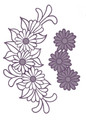 Sue Wilson Finishing Touches Daisy Cluster Die  CED1450 - Pre-Order 15% Off