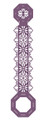 Sue Wilson Finishing Touches Delicate Filigree Buckle Bar Die  CED1454 - Pre-Order 15% Off