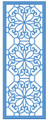 Sue Wilson - Striplets Collection - Ornate Octagons Die CED1614 - Pre-Order 15% Off