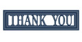 Sue Wilson - Expressions Collection - Bold Thank You Die CED5419 - Pre-Order 15% Off