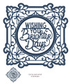 Sue Wilson Expressions Ornate Frame - Brighter Days Die CED5422 - Pre-Order15% Off