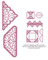 Sue Wilson - Configurations Collection - Meridian Edger Die CED6406 - Pre-Order 15% Off