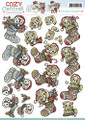 3D Sheet Yvonne's Creations  - Christmas Stocking CD10547